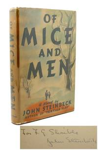 image of OF MICE AND MEN Signed 1st Issue!