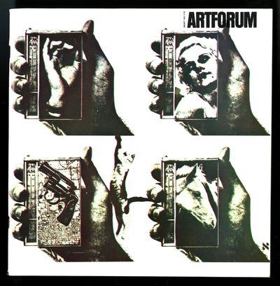 Los Angeles: Artforum 1966. Color cover of