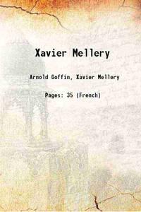 Xavier Mellery 1920 [Hardcover]