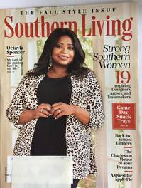 Southern Living September 2019 Octavia Spencer Game Day Snack Trays
