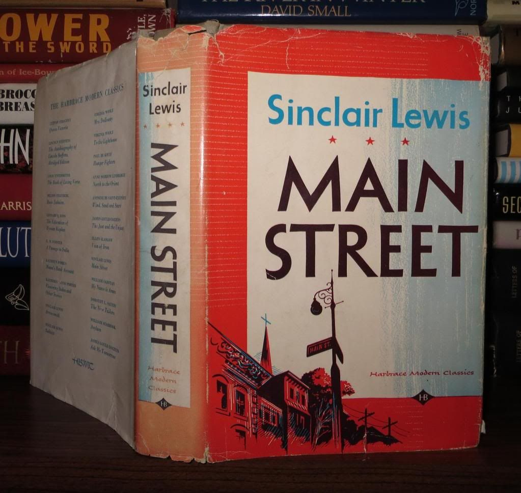 the efforts of carol in the satirical novel main street by sinclair lewis The germans were attacking to support the efforts of francisco franco to overthrow the basque  sinclair lewis's 1920 main street,  carol and de zegher.