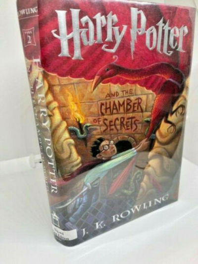 SIGNED  HARRY POTTER AND THE CHAMBER...