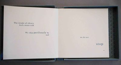 Rockport, ME: Stagenhoe Press, 2017. Artist's book, one of 5 copies regular issue, from a total issu...
