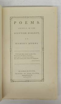 image of Poems, Chiefly in the Scottish Dialect