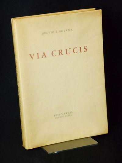 Buenos Aires: Edito Vehil, 1955. Limited Edition. Wraps. Near fine/near fine. Botana, Helvio I.. Num...