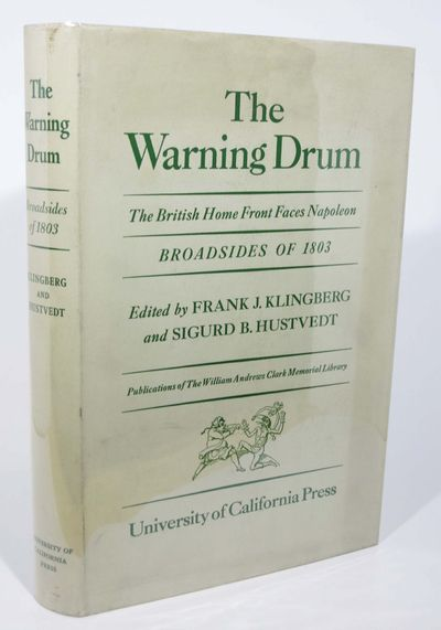 Berkeley: University of California, 1944. 1st edition. Green cloth binding with gilt stamped spine l...