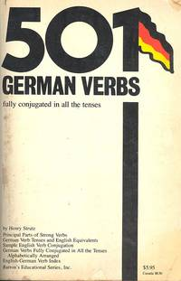 501 German verbs, fully conjugated in all the tenses, alphabetically arranged. by  Henry Strutz - 1982 - from Joseph Valles - Books and Biblio.co.uk