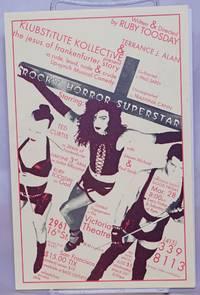 image of Terrance J. Alan_Klubstitute Kollective present the jesus of frankenfurter story Rocky Horror Superstar [leaflet] limited engagement at the Victoria Theatre