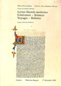 Vente 1 Décembre 1985: Livres illustrés modernes - Littérature - Sciences  -...