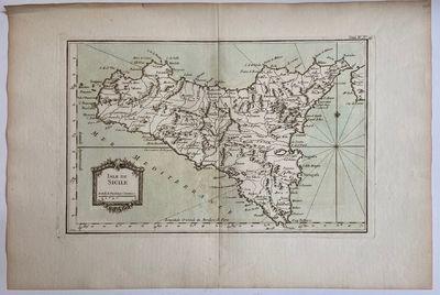 Paris: l'Abbe Antoine Francois Prevost, 1764. unbound. Map. Uncolored copper plate engraving. Image ...