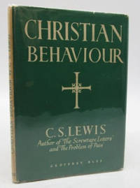 image of Christian Behaviour (signed first edition)