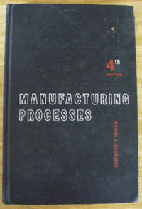 image of Manufacturing Processes by Begeman, Myron L by Begeman, Myron L