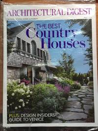 Architectural Digest July 2015 The Best Country Homes