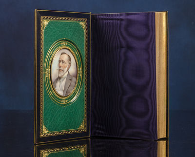 London: T. Fisher Unwin, 1896. A Superb Sangorski & Sutcliffe Cosway-Style Binding First Edition, Fi...