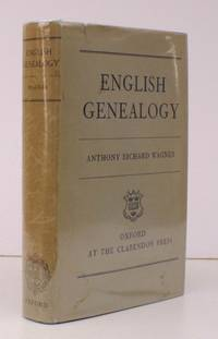 English Genealogy. [Second Impression.] BRIGHT, CLEAN COPY IN UNCLIPPED DUSTWRAPPER