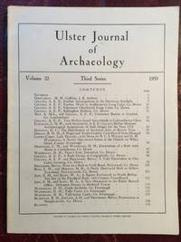 Ulster Journal Of Archaeology Third Series Volume 22 1959 A Newly Discovered Statue At The Church On White Island, County Fermanagh