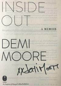 "INSIDE OUT A MEMOIR (SIGNED and ""XX"