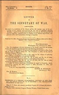 38th Cong. Senate....Proceedings of general court-martial for... Assistant Surgeon Webster