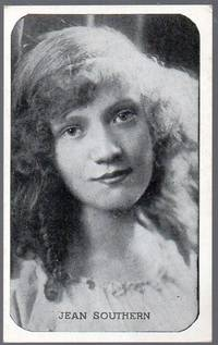 image of 1917 Kromo Gravure Photo Trading Card of Silent Flim Star Jean Southern