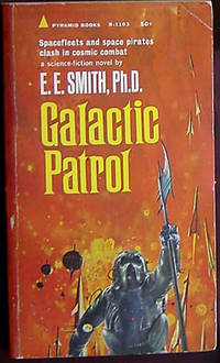 Galactic Patrol (Lensman #3) by cover) Smith. E.E. (John Schoenherr - Paperback - (1st thus) - 1964 - from Rainy Day Paperback Exchange and Biblio.com