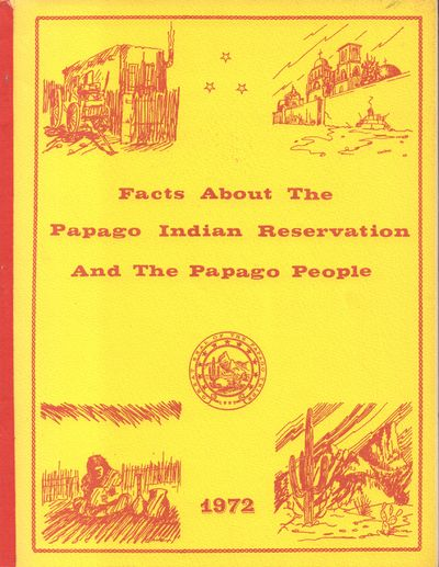 Bureau of Indian Affairs. Very Good with no dust jacket. 1972. Softcover. Yellow illustrated wrapper...