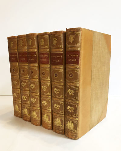 London: John Stockdale, 1801. A New Edition, with Corrections. Leather bound. Near fine. Six-volume ...