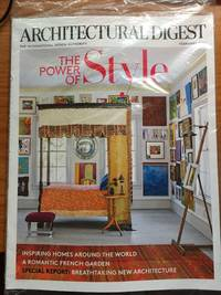 Architectural Digest Magazine (February, 2016) The Power of Style