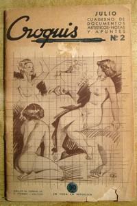 Croquis: Cuaderno de Documentos Artisticos--Notas y Apuntes Julio, 1940, No. 2