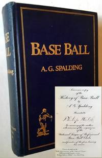 """America's National Game: Historic Facts Concerning the Beginning, Evolution, Development and Popularity of Base Ball (The Uncommon """"SOUVENIR COPY"""")"""