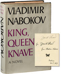 King, Queen, Knave (First Edition, inscribed by Nabokov to screenwriter David Shaw)