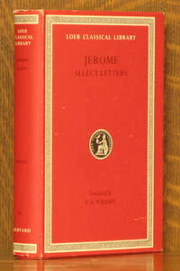JEROME - SELECT LETTERS (Loeb Classical Library, LCL 262)