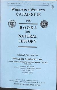 Catalogue 198/July 1992: Books on Natural History