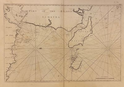 London: Henry Gregory, 1766. unbound. Sea chart. Uncolored engraving. Image measures 19 5/8