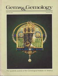 Gems & Gemology - The Quarterly Journal of the Gemological Institute of America by Richard T. Liddicoat - Paperback - 1987 - from leura books and Biblio.com
