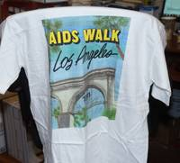 image of T-shirt for the 1991 AIDS Walk Los Angeles