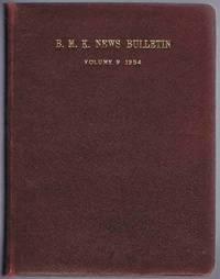 B.M.K. News Bulletin Volume 9 1954