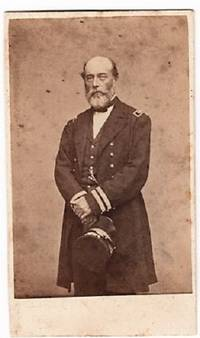 CARTE DE VISITE OF ADMIRAL CHARLES S. BOGGS IN HIS CIVIL WAR NAVAL OFFICER'S UNIFORM