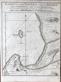 Karte von der Tafelbay und der Rheede des Vorgebirges der Guten Hoffnung.