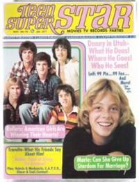 TEEN SUPERSTAR (SUPER STAR)  January 1977, Volume 1, Number 4