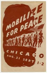 [Program]: Mobilize For Peace. Chicago Aug. 31 Sept. 1-2