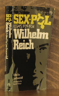 SEX-POL ESSAYS, 1929-1934 by Wilhelm Reich - Paperback - 1972 - from Andre Strong Bookseller (SKU: 31873)