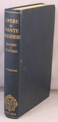 Le Opere di Dante Alighieri. by Dante Alighieri - Hardcover - 391894 - from Bucks County Bookshop  IOBA and Biblio.com