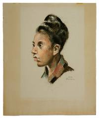 Pastel Portrait of an African-American Woman