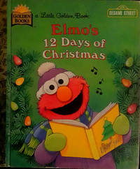 A Little Golden Book Elmo's 12 Days Of  Christmas