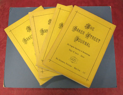 New York: Ben Abramson, Publisher, 1947. 1st printings (presumed). Yellow printed paper wrappers. Mo...