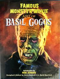 FAMOUS MONSTER ART of BASIL GOGOS (Signed, Limited Hardcover Edition in Slipcase)