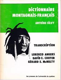 Dictionnaire Montagnais-Français