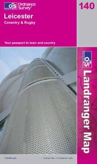 Leicester, Coventry and Rugby (Landranger Maps) (OS Landranger Map)
