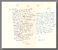 [Two Autograph Letters, Signed, to Seldon Rodman]