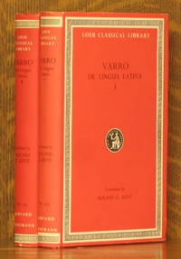 VARRO ON THE LATIN LANGUAGE [DE LINGUA LATINA] VOLUMES I & II - COMPLETE - LOEB CLASSICAL LIBRARY LCL 333  & 334